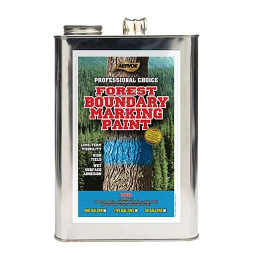 Forest Boundary Marking Paint one gallon can
