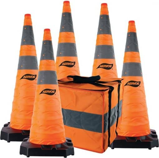 "Aervoe 36""heavy duty collapsible safety cone kit"