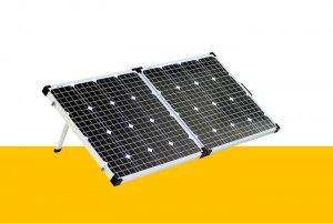 Sierra Wave 120 Watt solar Panel Web button